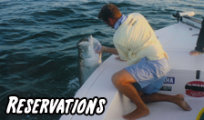 Reservations for Florida Guided Fishing Charters and Dinner Cruises